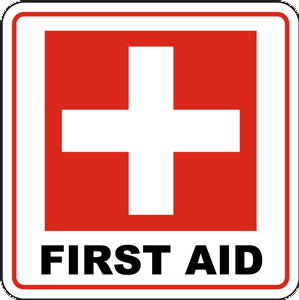 first aid - Sign & Notices