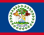 flag of Belize 150x120 - Nations, Nationalities and Languages in Farsi A-H