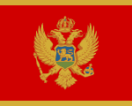 flag of Montenegro 150x120 - Nations, Nationalities and Languages in Farsi I-M