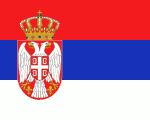 flag of Serbia 1 150x120 - Nations, Nationalities and Languages in Farsi N-S