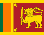 flag of Sri Lanka 150x120 - Nations, Nationalities and Languages in Farsi N-S