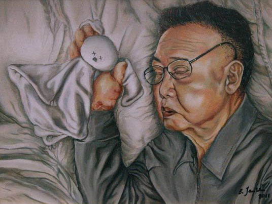 dictator sleeps1 - A Tale of Sa'di (2)