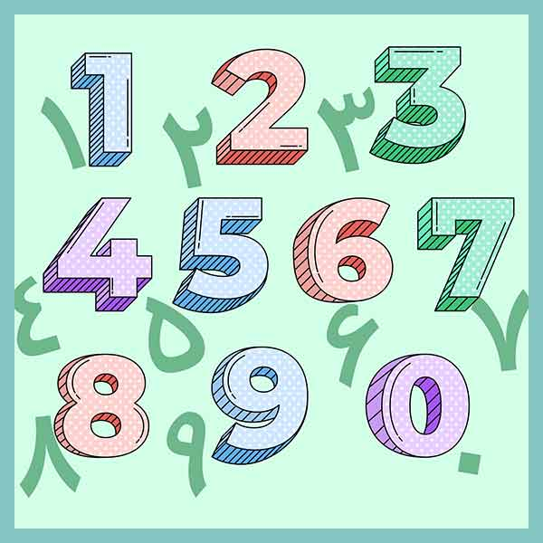 numbers - Numbers in Farsi